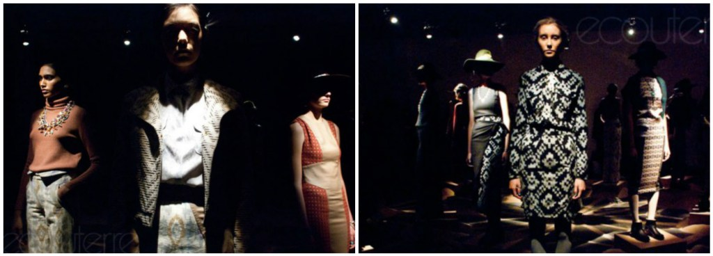 Gretchen Jones Tours the Shadowlands at Fall 2012 New York Fashion week [Image: ecouterre]