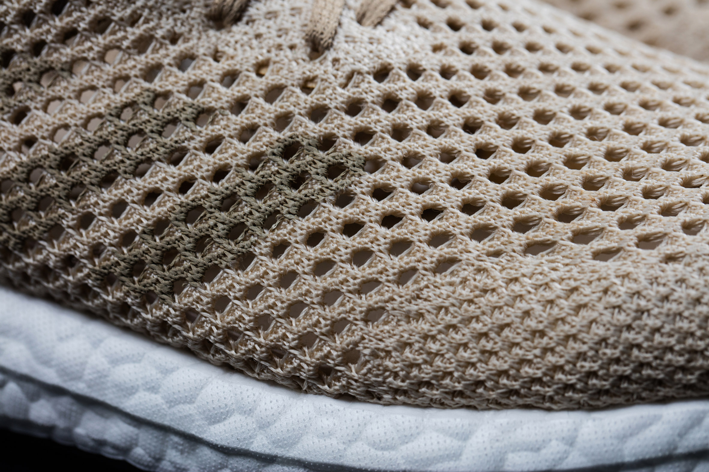 pretty nice 27994 3a810 Adidas Biosteel trainers biodegradable fabric shoes fashion design. Image  Adidas  Dezeen