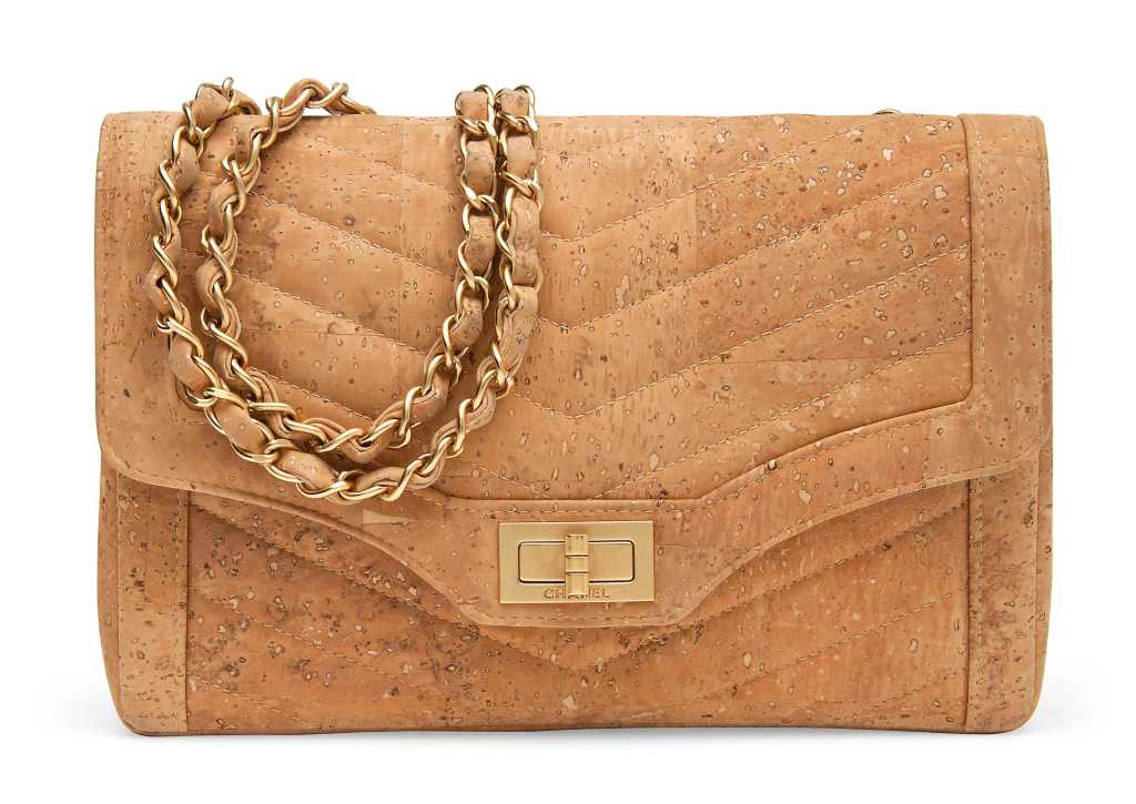 Limited Edition Cork Leather bag [Image: Online Auctions]