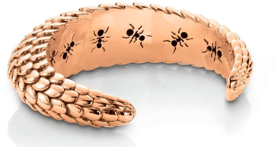 Pangolin Rose Gold Bracelet [Image: Patrick Mavros]