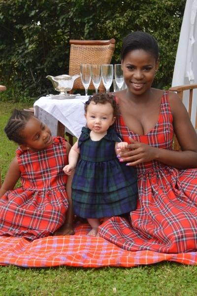Linda and Elizabeth Dress [Image: Courtesy of Njema Helena]