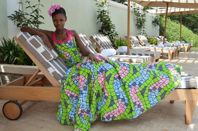 Julie Evening Dress [Image: Courtesy of Njema Helena]