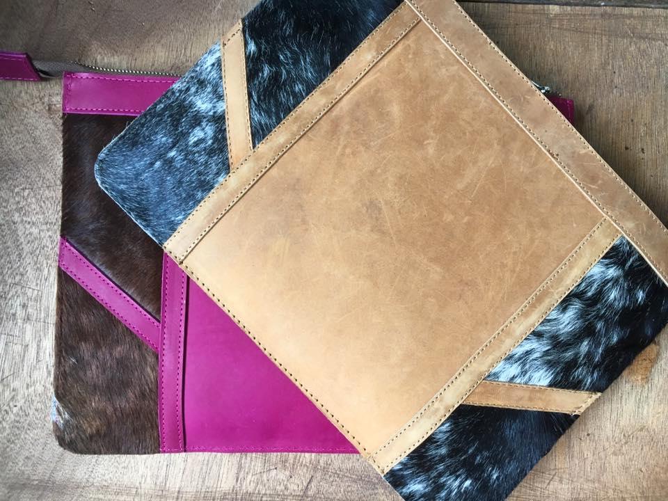 Luoch leather clutch [Image: Courtesy of Wazawazi]