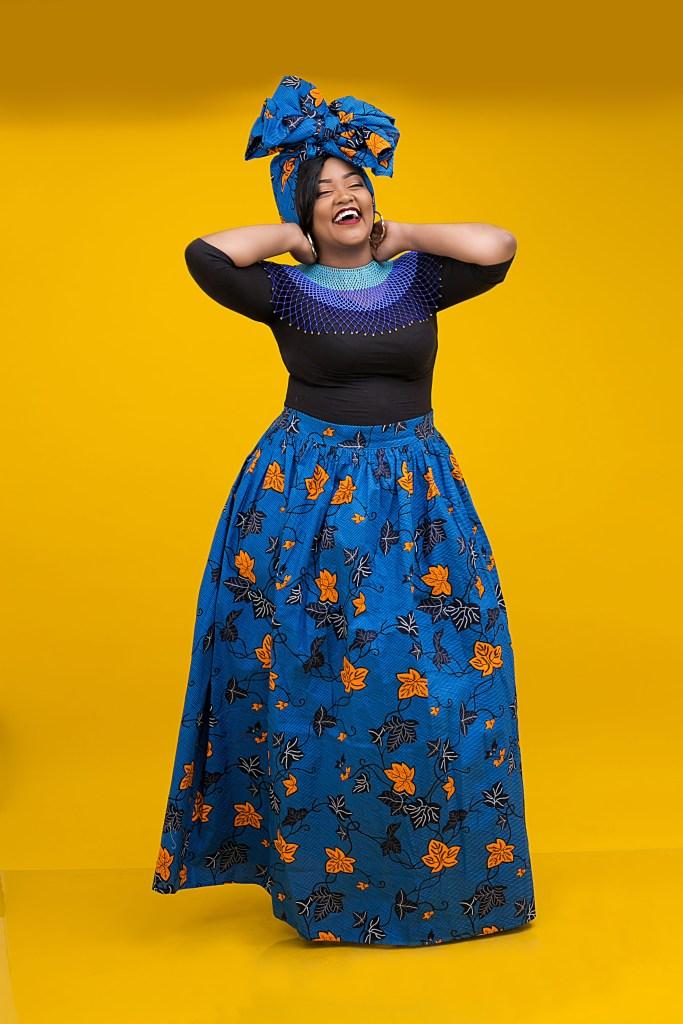 Kahaari Furahi Floral Maxi Skirt
