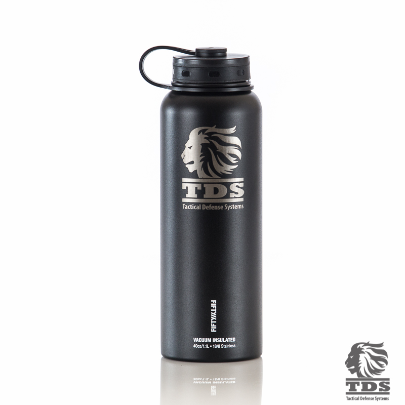 40oz Double-Wall. Vacuum-Insulated Water Bottle - Tactical Defense Systems