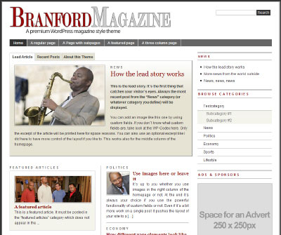 Tema: The Branford Magazine