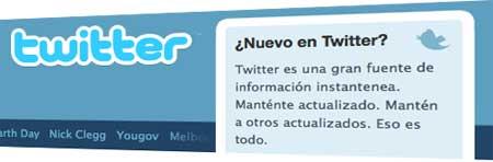 Nuevo en Twitter