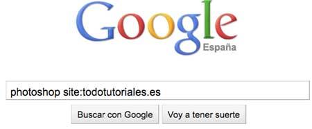 Restringir búsquedas en Google