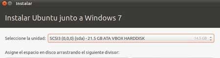 Instalar Ubuntu en Windows 7