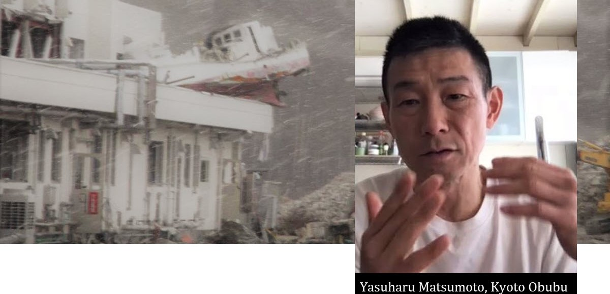 Tohoku Quake Tea Relief Caravan