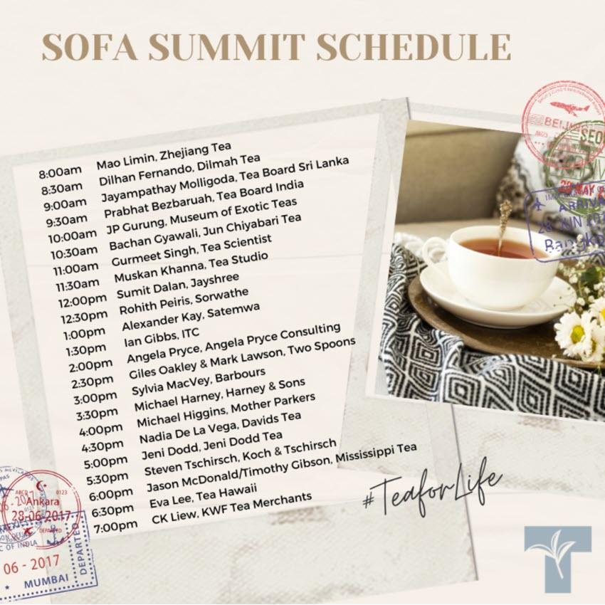 SofaSummit Schedule