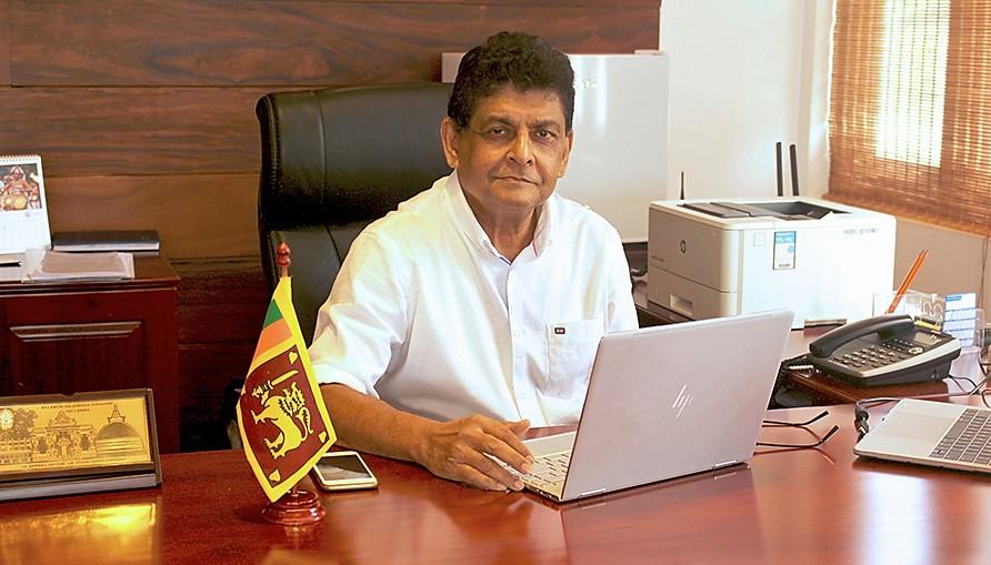 Jayampathy Molligoda, Chairman SLTB