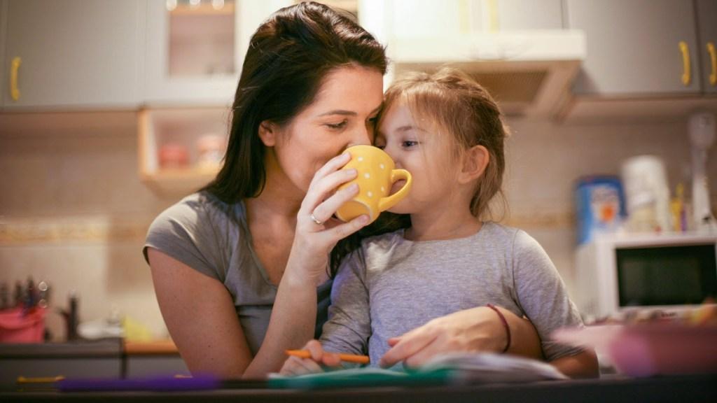 Children Benefit from Drinking Tea