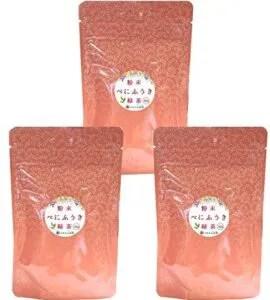 べにふうき 粉末茶 50g×3個セット 送料無料