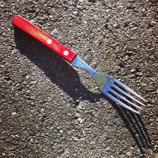 Fork in Road by Himmelmann