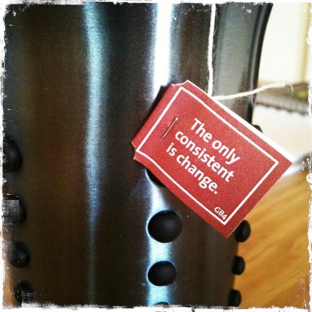 Yogi tea always seems to know...