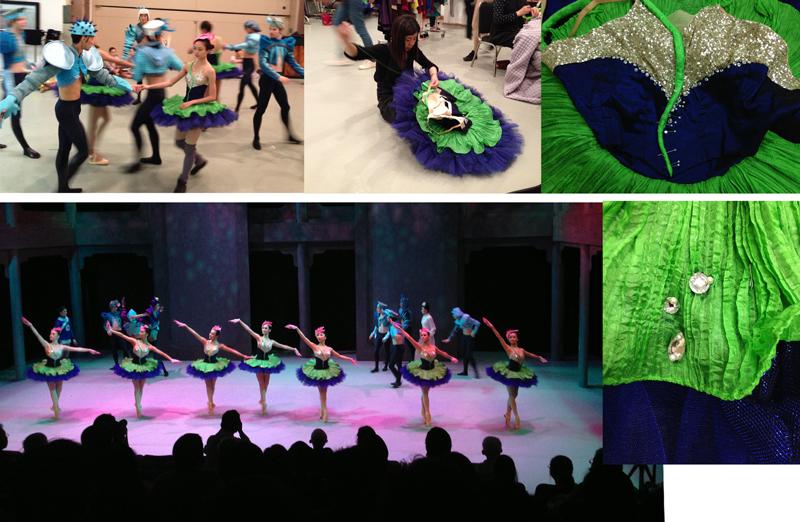 Tutu-Evolution4 tutu design ballet rehearsal bsteis lotus flowers