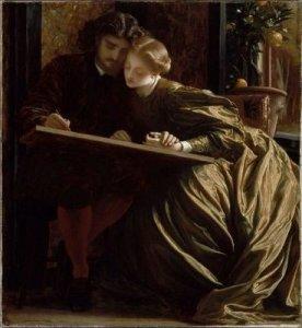 painter's_honeymoon,_1864,_lord_frederic_leighton_painging_mfa