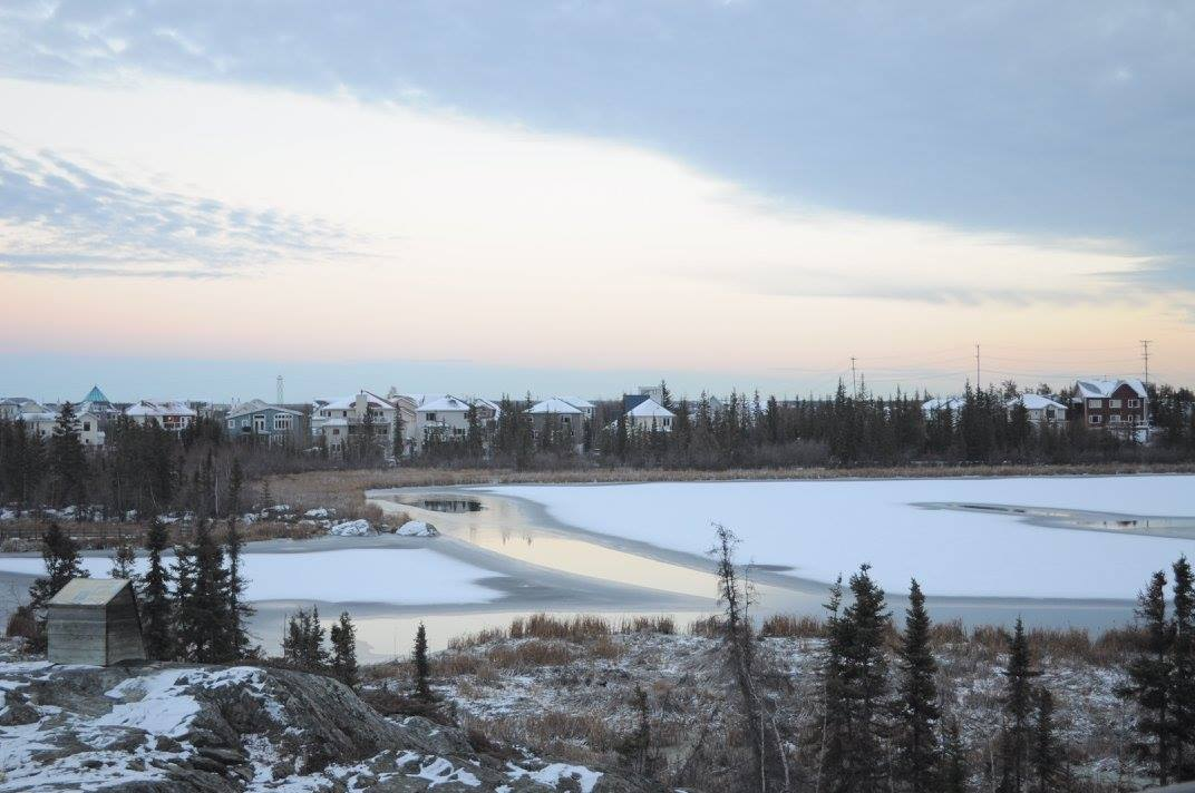 Week 15.5, 52 Weeks, Canada, Yellowknife, ice, icy, lake, icy lake