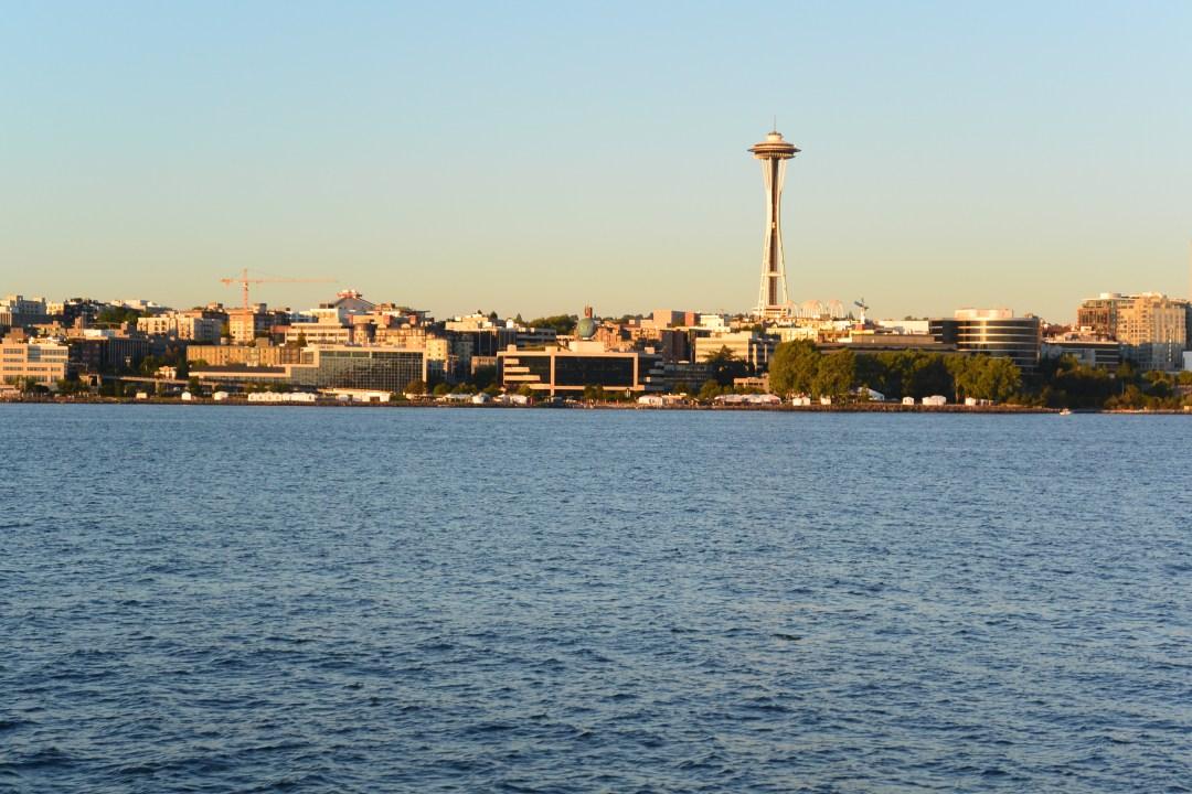 Seattle Skyline, running away, vacation, travel