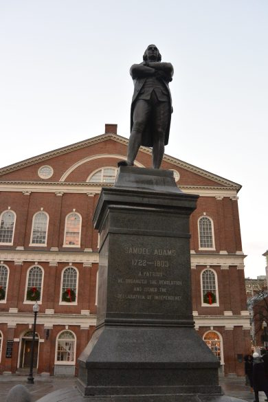 Boston, USA, Samuel Adams, resolutionaries, resolution, revolutionaries, New Year's Eve, New Year
