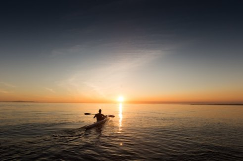 rower, paddle, paddling, mornings, early, early morning, sunrise, rowing