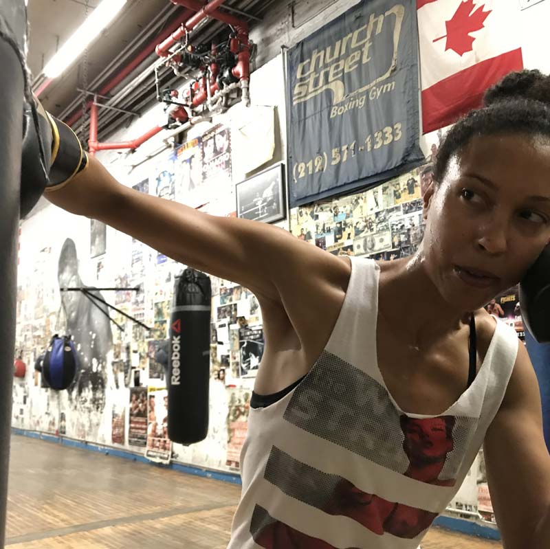 boxing, JoAnna, sport, feminist, punching bag