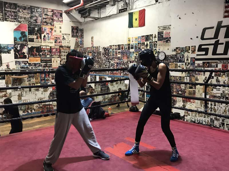boxing, JoAnna, sport, feminist, sparring