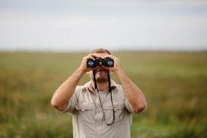 looking forward, looking ahead, binoculars,