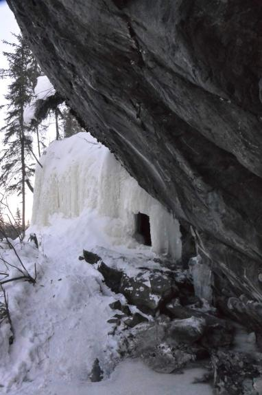 ice caves, Yellowknife, natural wonders, ice, nature, snow