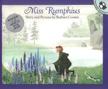 Miss Rumphius, reading, kids, books, kids books, childhood, growth