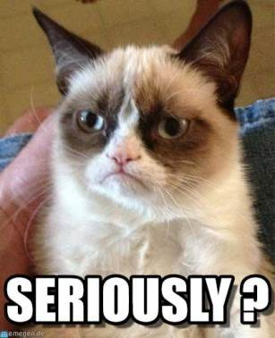 grumpy cat, seriously, surgery