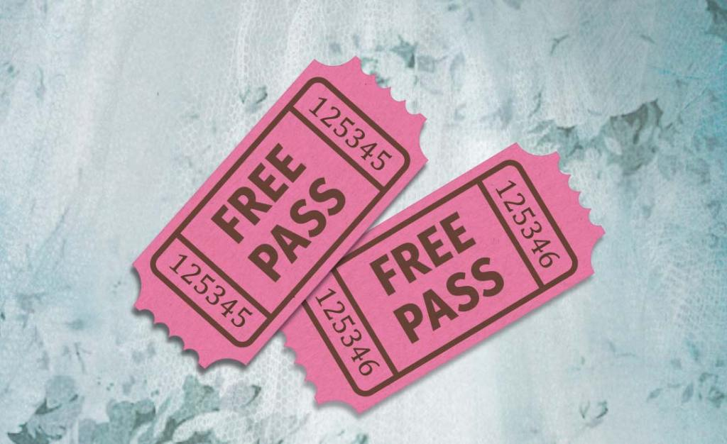 Free pass tickets