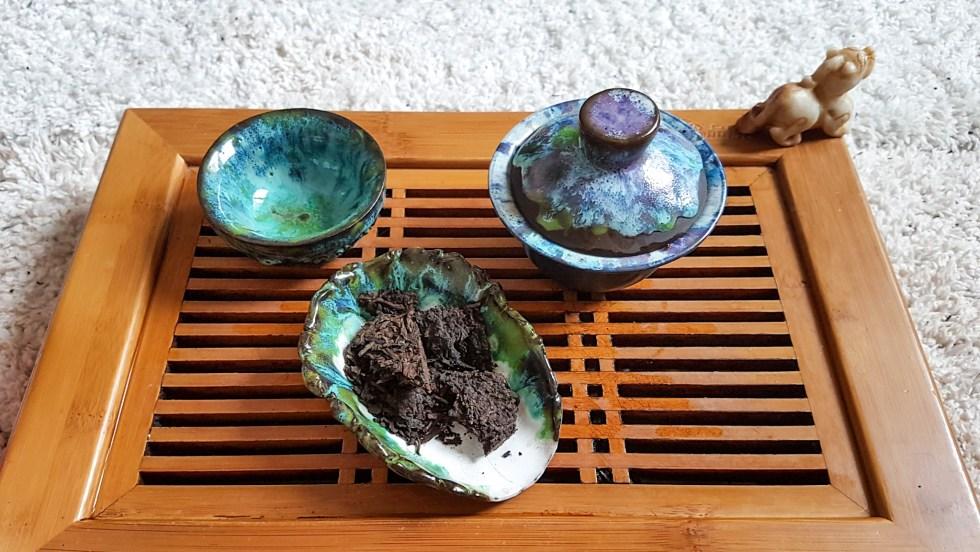 Посуда для чайной церемонии, шу пуэр 15 лет