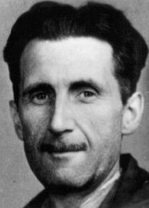 1933 Press Photo of George Orwell