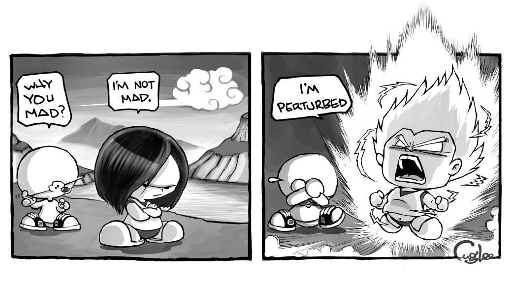 comic perturbed