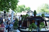 Floating Cafe in Little Venice