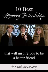 These are some of the best book friendships of all time! These literary friendships will inspire you to invest more in your own friends and find new kindred spirits, too!