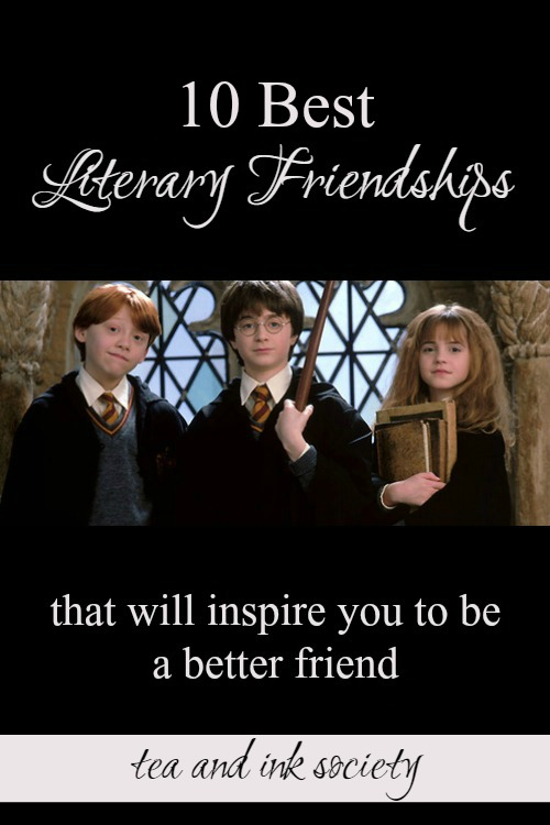 These are some of the best book friendships of all time! These literary friendships will inspire you to invest more in your own friends and find new kindred spirits, too! #Friendship #KindredSpirits