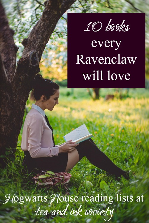 Ravenclaws will love this Hogwarts House reading list! If you love intelligent books that are full of wit and whimsy, these books won't disappoint. #Ravenclaw #HogwartsHouses