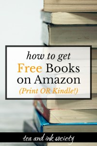 An Easy Way to Get Free Books on Amazon (Print OR Kindle!)