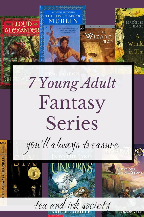 If you want classic young adult fantasy series, you'll love these 7 picks, with unforgettable characters, plots, and worlds that stick in your mind for years to come. Read them on your own or to your kids, but they deserve a spot on your bookshelf! #readinglists #yafantasy