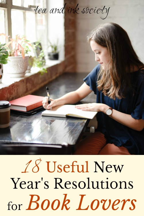 18 Useful New Year's Resolutions for Book Lovers