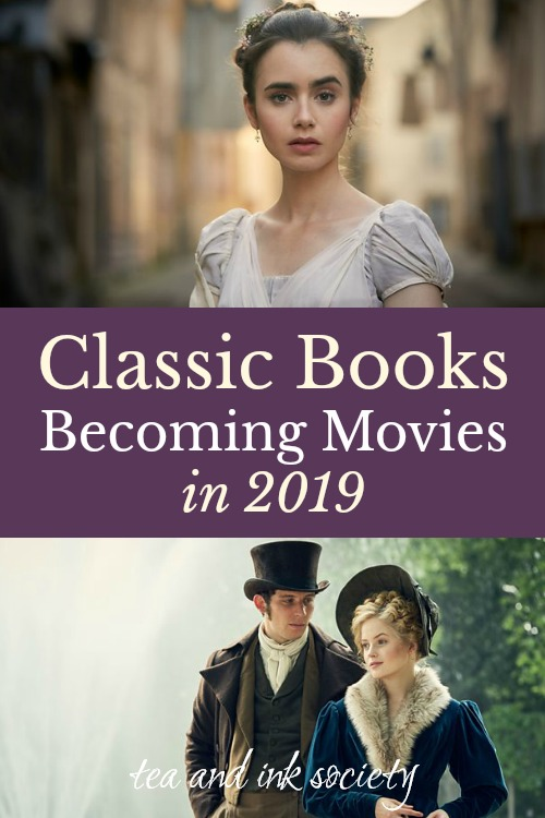Classic Books Becoming Movies and Miniseries in 2019