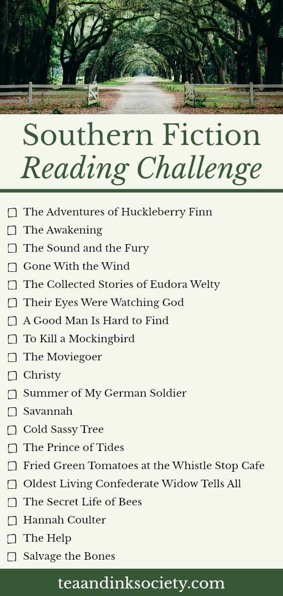 These books set in the South are bestsellers for a reason! Take the Southern fiction reading challenge and get to know some of the best novels and short stories from Southern authors. #ReadingChallenges #BookLists
