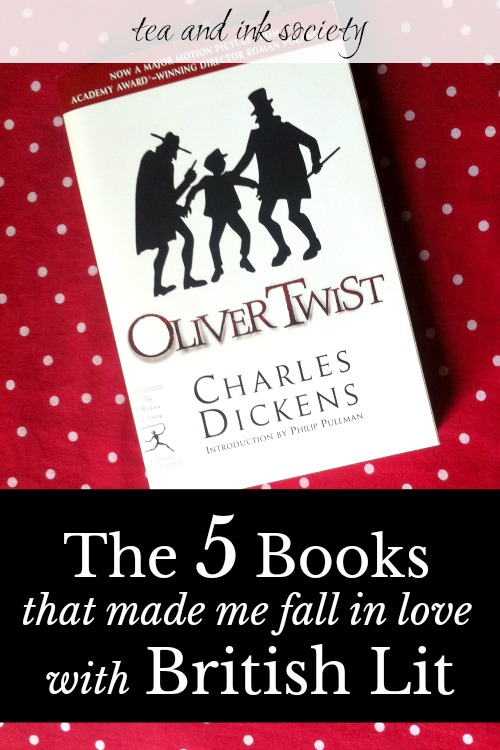 The 5 Books that Made Me Fall in Love with British Literature
