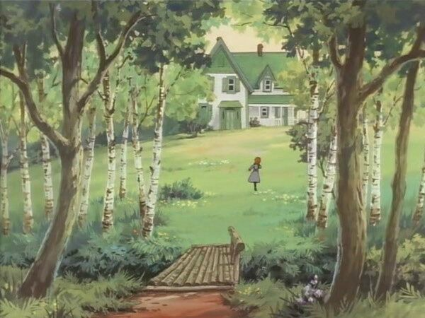 """""""Akage no An"""" Japanese anime version of Anne of Green Gables"""