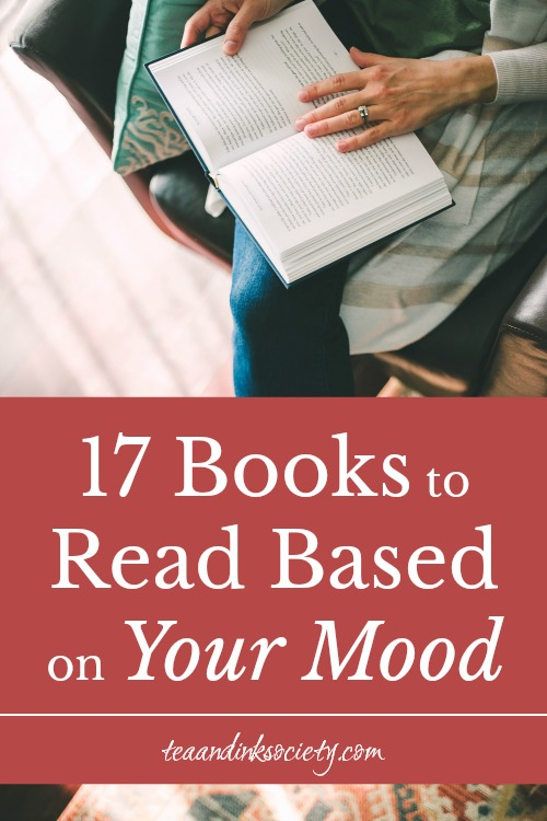 Reading a book based on your mood