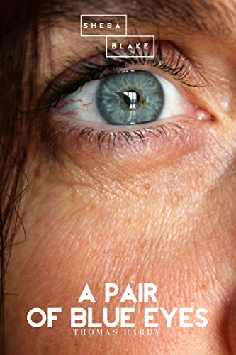 Funny book cover for A Pair of Blue Eyes