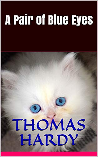 Silly book cover version of A Pair of Blue Eyes